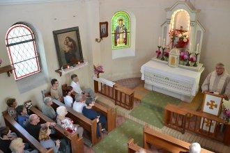 80.let kaple sv. Alžběty Durynské v Dolních Křečanech