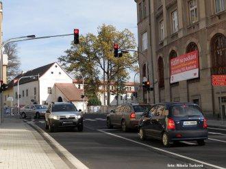Nový silniční průtah v Rumburku