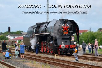 Slavnostní dokončení rekonstrukce železniční tratě Rumburk - Dolní Poustevna